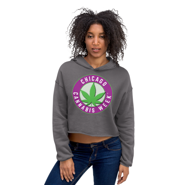 Order My Chicago Cannabis Week Crop Hoodie Now!