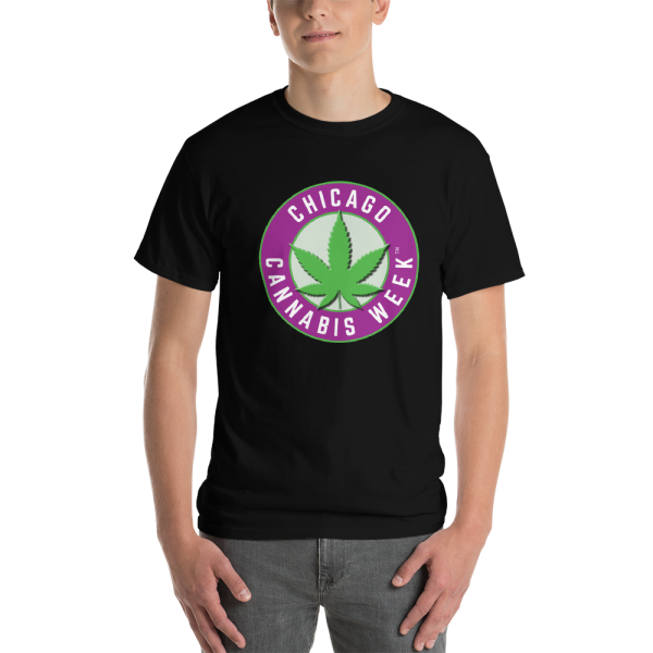 Order My Chicago Cannabis Week Men's Short-Sleeve T-Shirt Now!