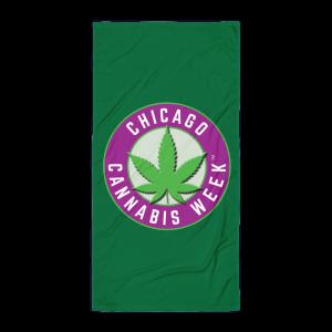 Order My Chicago Cannabis Week Beach Towel Now!
