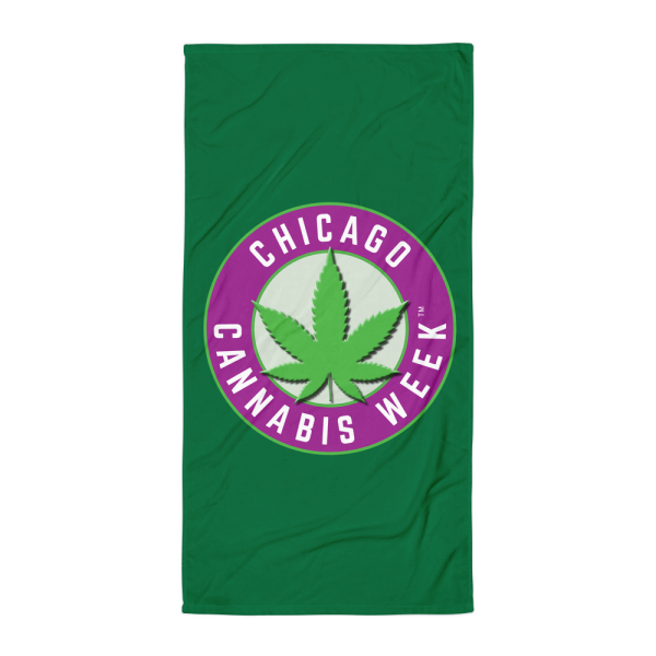 Order My Chicago Cannabis Week Beach Towel Now!