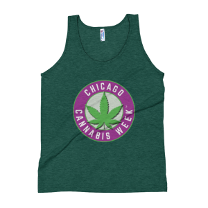 Order My Chicago Cannabis Week Unisex Tank Top Now!