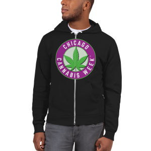 Order My Chicago Cannabis Week Zip Hoodie Now!