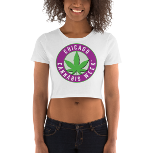 Order My Chicago Cannabis Week Women's Crop Tee Now!