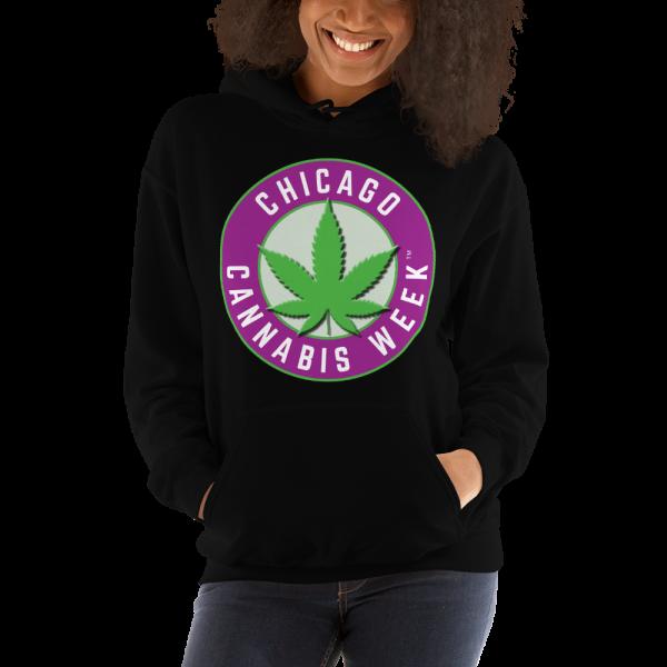 Order My Chicago Cannabis Week Unisex Hooded Sweatshirt Now!
