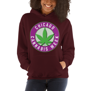 Order My Chicago Cannabis Week Unisex Hooded Sweatshirt Now!
