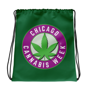 Order My Chicago Cannabis Week Drawstring Bag Now!