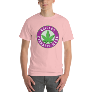 Order My Chicago Cannabis Week Men's Short-Sleeve T-Shirt Now!